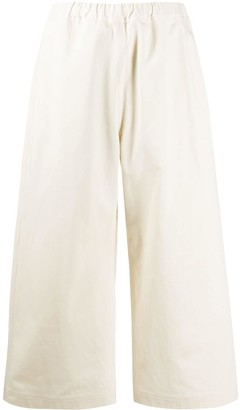 Sofie D'hoore Cropped Flare Trousers
