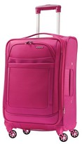 """American Tourister iLite Max Spinner Carry On Luggage - Raspberry (21"""")"""