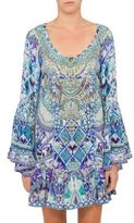 Camilla The Blue Market A Line Frill Dress