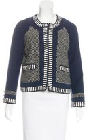 Tory Burch Wool-Blend Textured Jacket