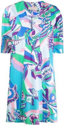 Emilio Pucci Corsico print shift dress