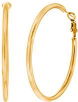Bliss Gold-Plated 55-MM Hoop Earrings