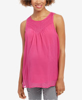 Wendy Bellissimo Maternity Embroidered Tank Top