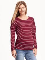Old Navy Maternity Side-Shirred Tee