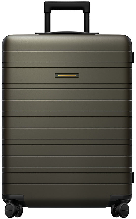 Horizn Studios Smart Hard Shell Suitcase - Dark Olive - Medium
