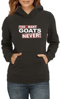 Idakoos - Too many Goat Never! - Animals - Women Hoodie