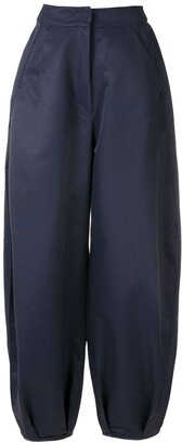 ALUF Ceci cropped wide-leg trousers