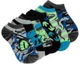 Famous Footwear Kids' 6 Pack Dino No Show Socks