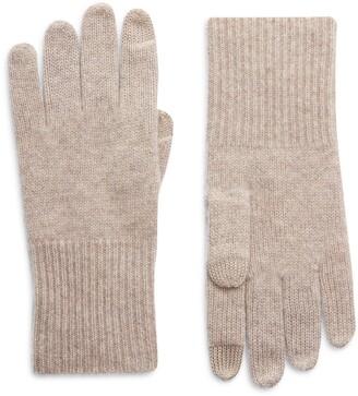 Halogen Cashmere Tech Gloves