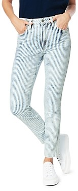 Joe's Jeans The Luna Skinny Ankle Jeans in Railroad Stripe