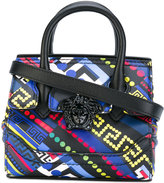 Versace printed Mini Empire tote - women - Calf Leather - One Size