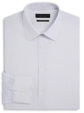 The Men's Store at Bloomingdale's Cross Pattern Slim Fit Dress Shirt