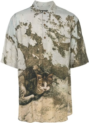 Song For The Mute Cat Print Shirt