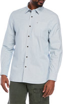 Victorinox Pinstripe Railroad Work Standard Fit Shirt