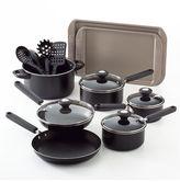 Farberware 14-pc. cook's view nonstick cookware set