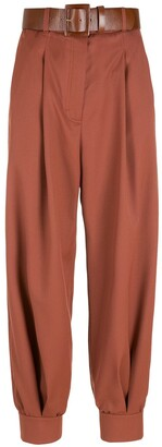 Nk Belted Wool Trousers