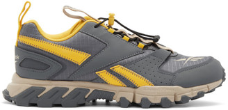 Reebok Classics Grey and Yellow DMXpert Sneakers