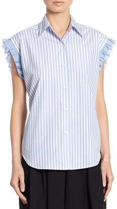 Tome Lace-Up Top