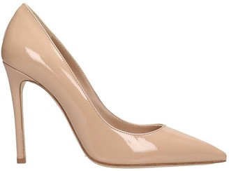 The Seller Pumps In Powder Patent Leather
