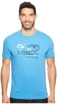 Life is Good Good Vibes Wave Crusher Tee Men's T Shirt