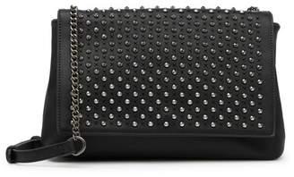 Urban Expressions Metallic Stud Crossbody Bag