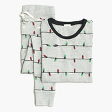 J.Crew Factory Printed ribbed knit sleep set