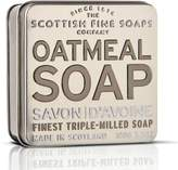 Scottish Fine Soaps Oatmeal Soap in a Tin by 100g Bar)