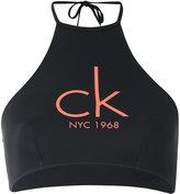 Calvin Klein Jeans logo print top - women - Polyamide/Spandex/Elastane - S