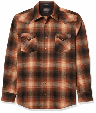 Pendleton Woolen Mills Pendleton Men's Tall Size Big & Tall Long Sleeve Canyon Shirt