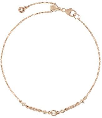 Astley Clarke 14kt gold diamond Mini Icon Nova bracelet