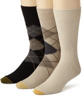 Gold Toe Men's Argyle Texture 3 Pack
