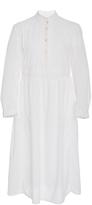 Thierry Colson White Papercut Rebecca Shirt Dress