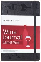 Moleskine Passion Hard Cover Wine Journal - Black