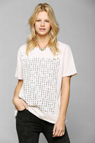 Urban Outfitters Feather Hearts Scramble Tee