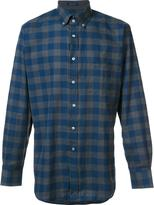 Paul & Shark checked pattern shirt