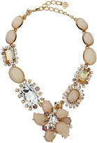 Oscar de la Renta Bold Multi-Crystal Statement Necklace