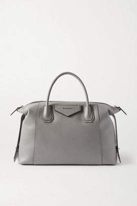 Givenchy Antigona Soft Medium Leather Tote - Gray