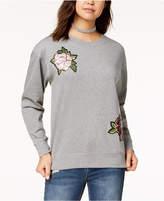 Ultra Flirt Juniors' Sequin Applique Sweatshirt