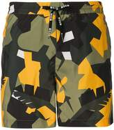 MSGM classic design beachwear