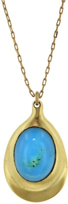 Ten Thousand Things Turquoise Pendant Necklace