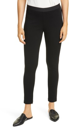 Eileen Fisher Side Seam Ankle Leggings