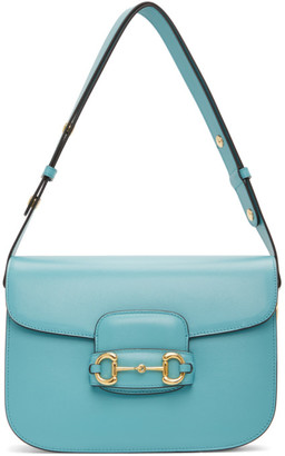Gucci Blue 1955 Horsebit Bag