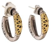 Konstantino Daphne Hoop Earrings