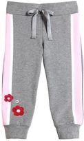 Simonetta Embroidered Cotton Sweatpants