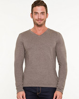 Le Château Silk Blend V-Neck Sweater