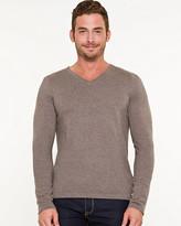 Le Château Silk Blend V-Neck Sweater