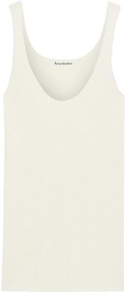 Acne Studios Eloy Ribbed Merino Wool-blend Tank