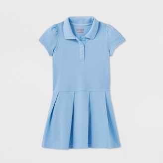 Cat & Jack Toddler Girls' Short Sleeve Pleated Uniform Tennis Dress - Cat & JackTM