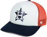 '47 Women's Houston Astros Glimmer Captain Snapback Cap