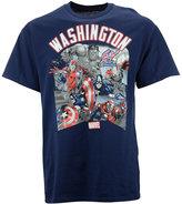 Fifth Sun Men's Washington Wizards Comic Shatter T-Shirt